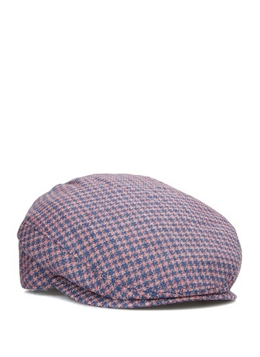 Doria Doria  Desenli Erkek Şapka 101646493 Kırmızı